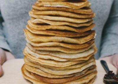 Healthy Breakfast Pancakes Recipe